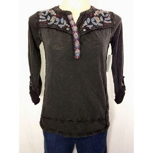 🆕Style&Co Women's Embroidered Adjustable Sleeves